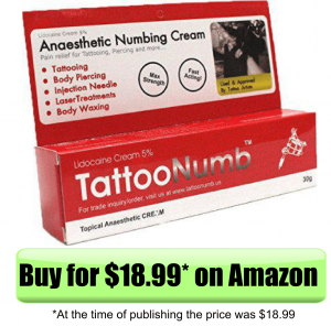 best tattoo numbing cream 10 most effective review