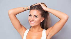 Hairstyles for unwashed hair