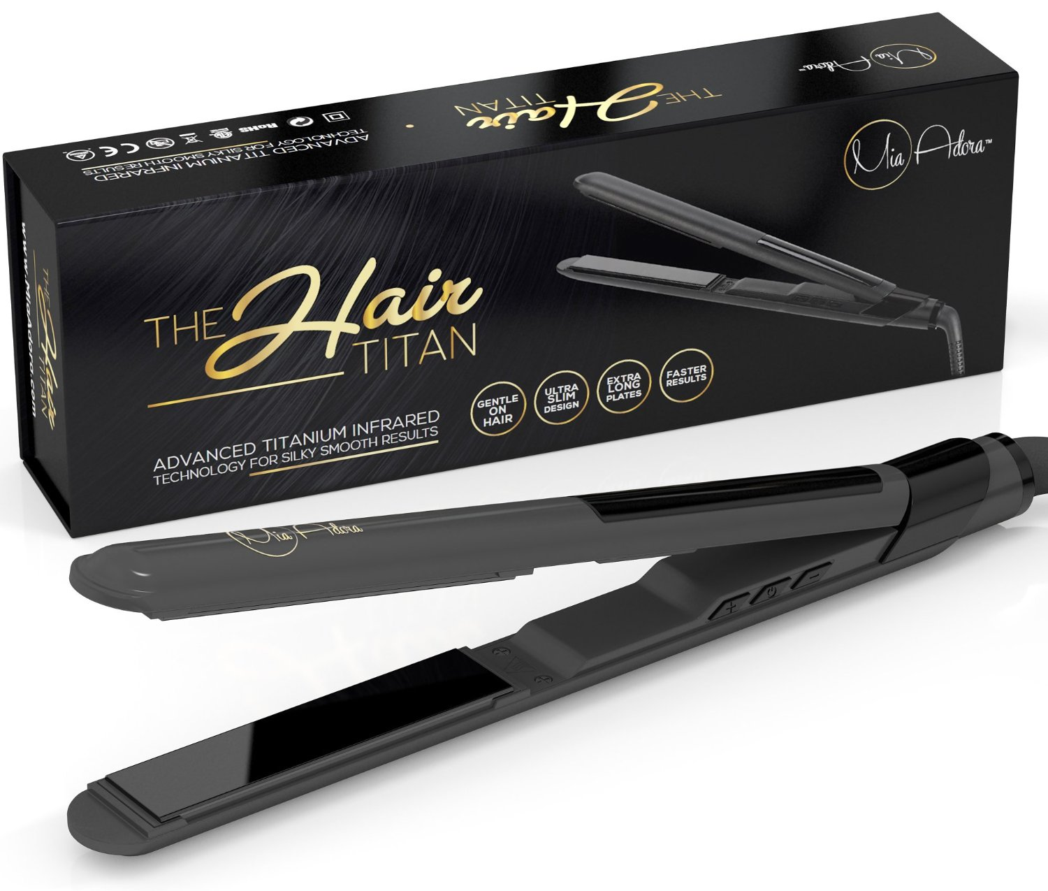 best hair styling iron best flat iron for curly hair thick hair amp more top 10 3379 | 81DWlvapg7L. SL1500