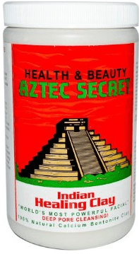Bentonite Clay for Hair Aztec Secret