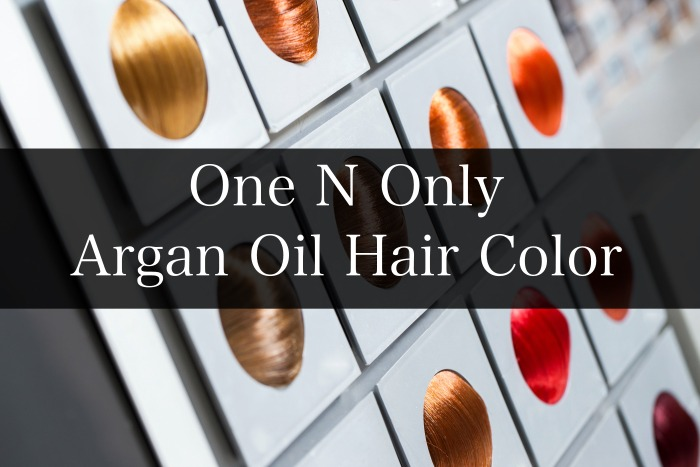 One N Only Argan Oil Hair Color Chart Guide Live Beauty Health
