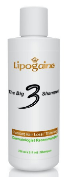 best shampoos for hair loss Lipogaine Big 3 Premium Hair Loss Prevention Shampoo