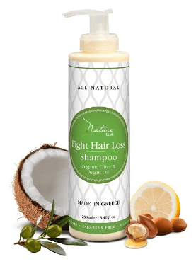 best shampoos for hair loss Nature Lush Organic Argan Anti-Hair Loss Shampoo