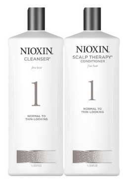 best shampoos for hair loss Nioxin System 1 Cleanser & Scalp Therapy
