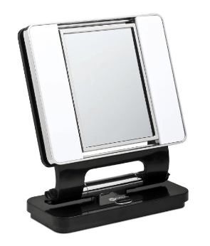 best lighted makeup mirror ottlite