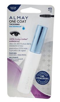 Hypoallergenic makeup Almay One Coat Nourishing Mascara