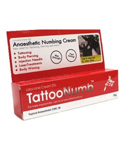 Best tattoo numbing cream no pain top 10 review for Numbing cream for tattoos over the counter