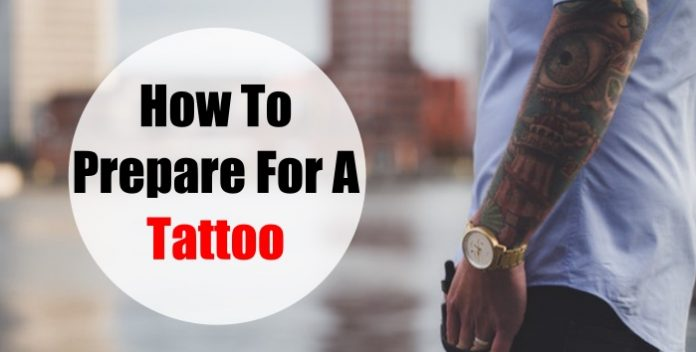 preparing for a tattoo learn how to get the best results